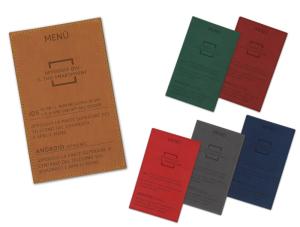 """Il nostro digital menù è un'idea pratica per consultare il menù del ristorante senza contatto.  COME FUNZIONA?  Basterà appoggiare lo smartphone al digital menù per aprire il link contenuto all'interno del chip NFC e visualizzare direttamente il menù sul proprio smartphone.  CHE COS'È LA TECNOLOGIA NFC?  NFC è l'acronimo di """" Near Field Communication"""" e significa, letteralmente comunicazione di prossimità. La tecnologia NFC consente una connettività wireless sicura tra due dispositivi, con relativo scambio di dati.  COME SI INSERISCE IL MENÙ NEL DIGITAL MENÙ?  Se acquistate il digital menù non programmato il cliente potrà poi programmare il proprio menù seguendo le semplici indicazioni  da noi fornite.    In alternativa è possibile richiedere la programmazione del chip."""